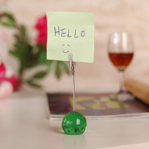 Fil Memo Holder balle Remarque Paper Clip -Vert FREE SHIPPING(China (Mainland))