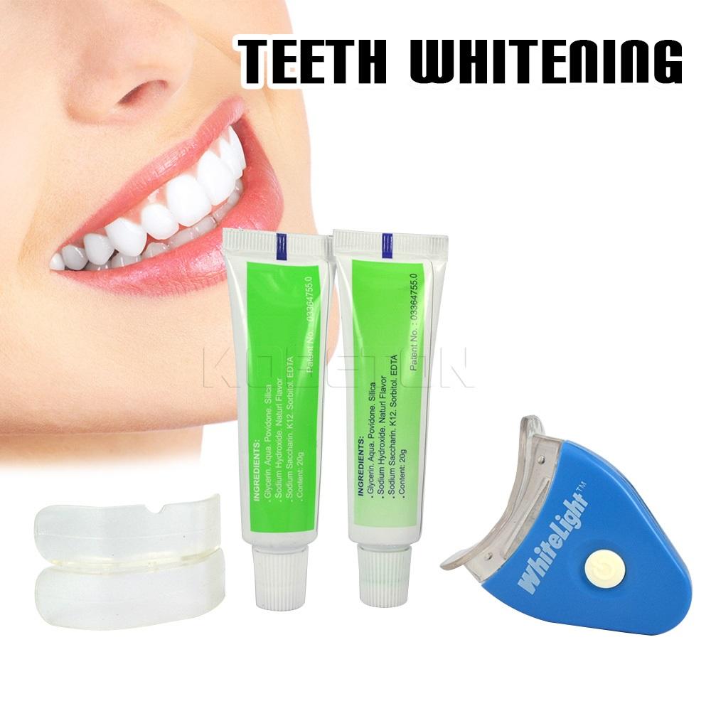 1 Set White Light Tooth Whitening Teeth Whitening Gel Whitener Dental White Tooth Brightening Tooth Bleaching Whitening Lamp