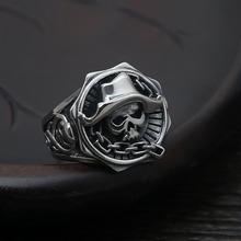 2016 Popular comic Piece Ring 100% 925 sterling silver men women ring 2015 Christmas gift fine jewelry GR73 - Genuine Hongkong Jewelry Store store