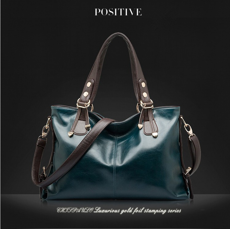 2015 New Women Messenger Bags Fashion Genuine Leather Handbag Portable Shoulder Bag Crossbody Bolsas Women Leather Handbag Tote(China (Mainland))