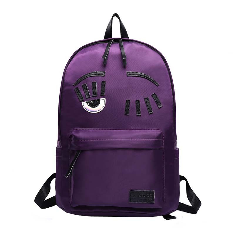 XX  Casual Girl Backpack Women Leather Simple Pure Color Large Knurlings Butterfly Knot Capacity PU Leather Backpack Brand
