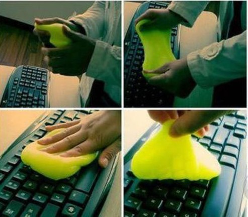 New Hot Sale 2015 Magic Glue Gel Monitor Cleaning Compound Portable Keyboard Magic Cleaner For Computer Laptop(China (Mainland))