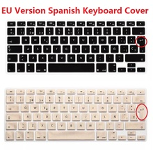 1pcs EU ESP Spanish Laptop Keyboard Skin Protector For Macbook Air Pro Retina 13 15 Silicon Keyboard Cover For iMac For Mac Mini(China (Mainland))