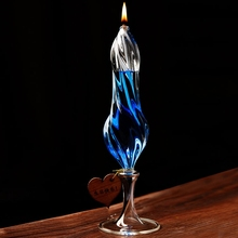 Fashion Oil Glass Candle Holders Transparent Candlesticks Romantic Dinner Home Decoration Candle Holder(China (Mainland))