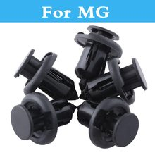 Buy Car Auto Black Push-Type Retainer Fasteners Clips Plastic Rivet MG 3 350 5 550 6 GS TF Xpower SV ZR ZS ZT for $4.56 in AliExpress store