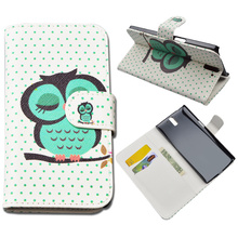5 Patterns OnePlus One Fashion Flip PU Leather Case Plus Cover Wallet Phone Cases Stand Card Holder - shenzhen fandatai technology company store