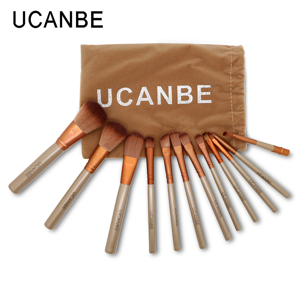 Гаджет  12Pcs brand Golden naked 3 Makeup Brushes Professional Cosmetics NK3 Brush tool Set Beauty Tools Maquiagem for Eyeshadow Blusher None Красота и здоровье