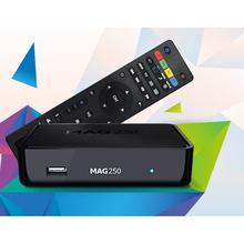 Mag 254 Google Android TV Box Internet Quad Core Amlogic Full HD Media Player Mag 250 IPTV Box tv box 4k android