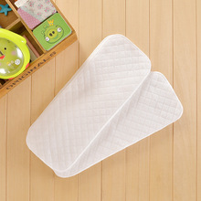 10pcs/lot Reusable Softable Breathable Nappies Baby Cloth Diapers Inserts Infant Nappy Liners  Washable Diaper Cover 3 layers(China (Mainland))