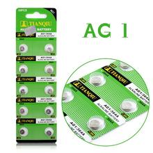10Pcs AG1 364 LR621 164 531 SR60 SR621SW Cell Battery Button Battery Coin Battery lithium battery For Watches,clocks calculators