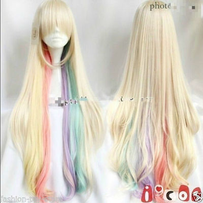 Amazing Harajuku wig the VOCALOID MAYU cosplay beautiful colorful long wigsAAA Hot heat resistant Party cosplays hair A359<br><br>Aliexpress