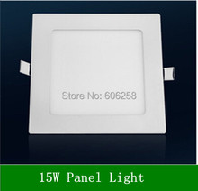 10PCS LED2835SMD 15W LED Panel Lights square Living Room Ceiling light(China (Mainland))