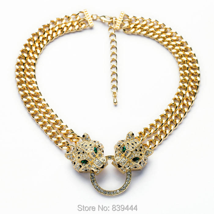 fashion jewelry new arrival leopard exaggerate