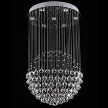 2015 Modern LED Crystal Ceiling Lamps Fixtures with Multi-size Ac 100 to 240v For Indoor Home Kingdom Lighting DIA20CM/30CM(China (Mainland))
