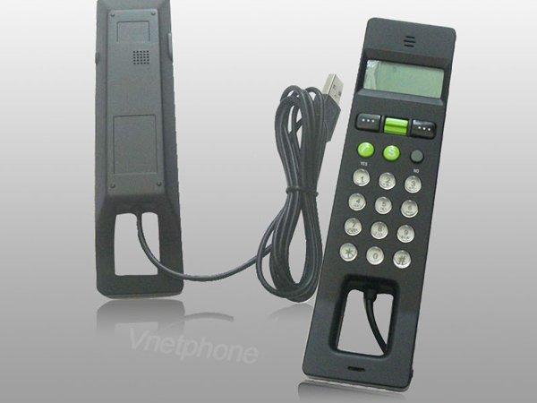 wholesale with 2GB Flash Memory skype USB Phone Handset Voip phone,LCD USB Phone,free shipping--Good News(China (Mainland))