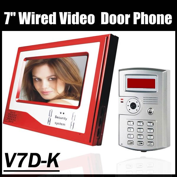 Access Control Door Phone commax video phone , support ID CARDS and password ,home phone(China (Mainland))