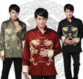 Shanghai Story new Long Sleeve Tang suit Chinese Traditional dragon printed Jacket chinese clothing mandarin collar