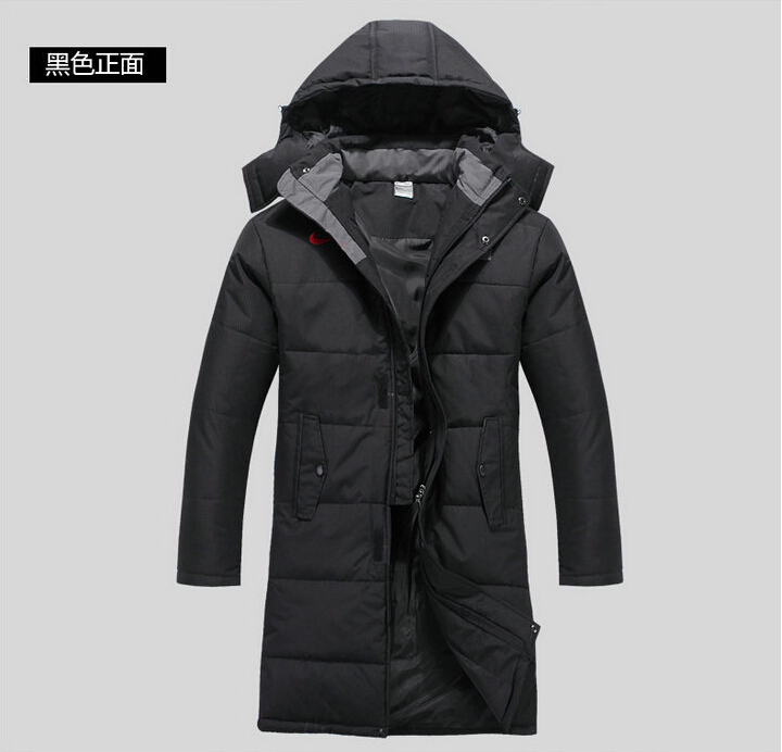 2015 sport men coats leisure wind cold and winter thick jacket In the men's long trench coat men's clothing big size S-4XL(China (Mainland))