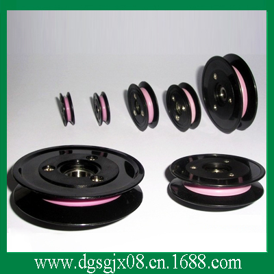 Ceramic wire cable guide pulley CR1010(China (Mainland))