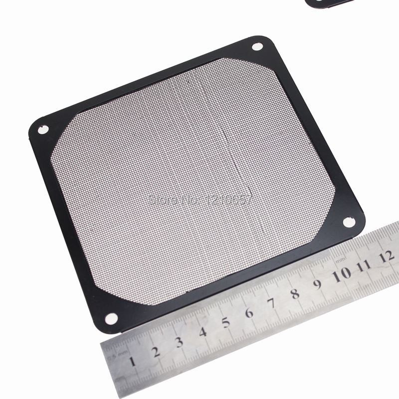 5Pieces LOT Black Guard Black Plastic Dustproof Filterable 120mm Computer Fan Filter(China (Mainland))