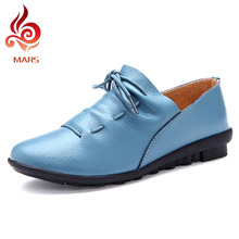 Summer Style Woman Loafers Fashion Genuine Leather Shoes Woman Comfortable Shoes Woman Flat Loafers Moccasin Size:35-40 Y2562