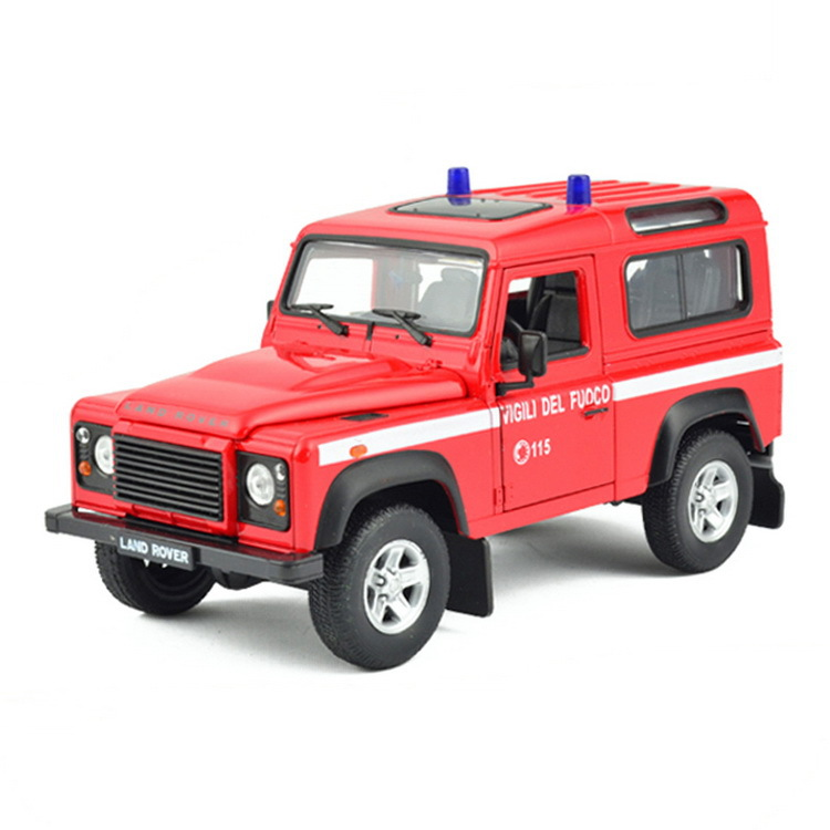 Hot sale welly 1:24 rover car models Batcfh of outbursts alloy models rover defender simulation model car suv high quality(China (Mainland))