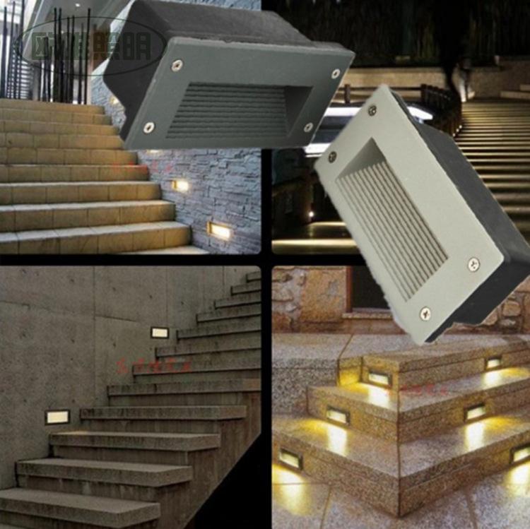 Led Landscape Lighting Forum : Led recessed stair light indoor