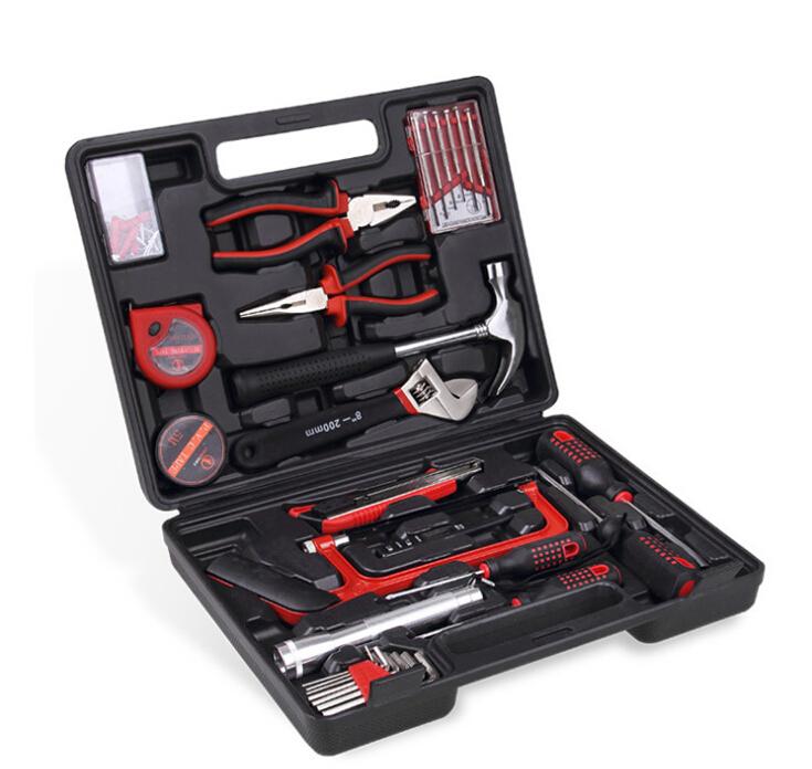 Free shipping 32 woolly automotive tools home kit Insurance company premium car kit 8632 emergency combina(China (Mainland))