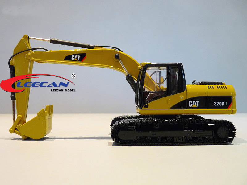 Special CAT 1:50 320 d L carter Peter alloy crawler type hydraulic excavator truck model(China (Mainland))