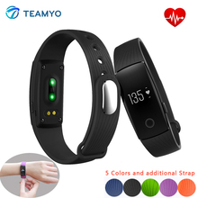 Teamyo ID107 Smart Band Bluetooth 4 0 OLED Smartband Heart Rate Monitor Actively Fitness Tracker Sleep