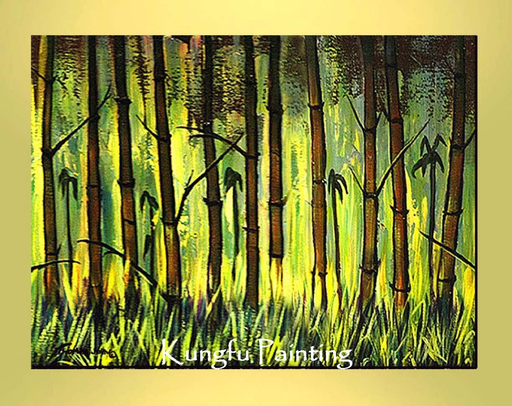 L-9336 100% Hand-painted unframed good quality modern abstract huge canvas art tree oil painting landscape(China (Mainland))
