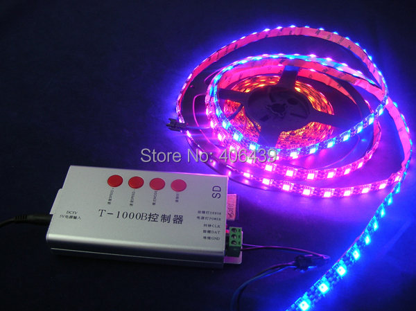 Black PCB 4m WS2811 digital led strip 60leds/m, with 60pcs WS2811 built-in the 5050 rgb led chip;WATERPROOF,IP65,DC5V input(China (Mainland))