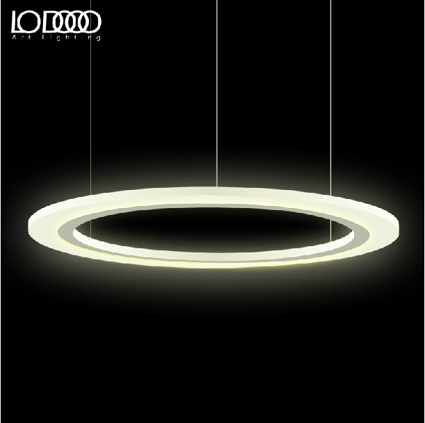 buy 60cm modern circle led pendant lights 36w living room suspension hanglamp. Black Bedroom Furniture Sets. Home Design Ideas