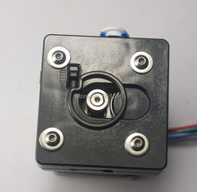 wholesale 3D printer Ultimaker 2 Remote extruder for um2 printer full metal aluminum work for 3mm