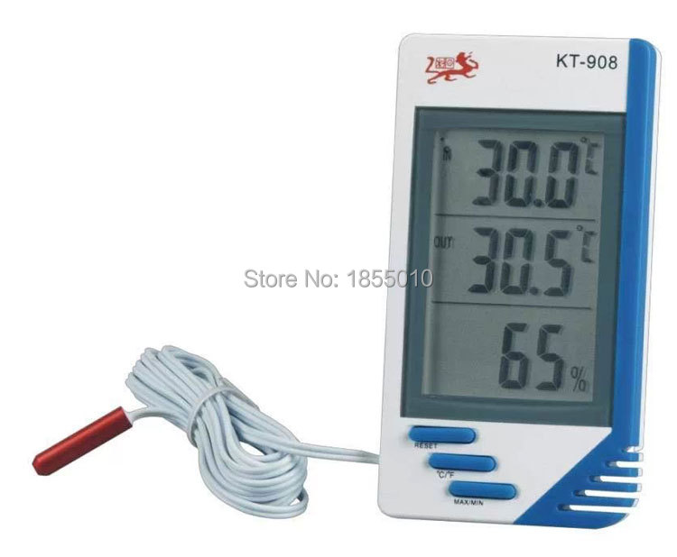 New Weather Station 3 In 1 Digital Temperature Humidity Meter Tester Clock Humidity Hygrometer Thermometer(China (Mainland))