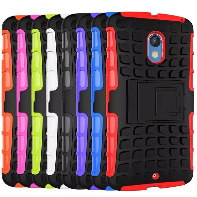 Motorola Moto X Play/XT1561/XT1562 5.5'' inch Antiskid Case Rugged Rubber Quality PC+TPU Hybrid Kickstand Cover Cases - Sor E-commerce store