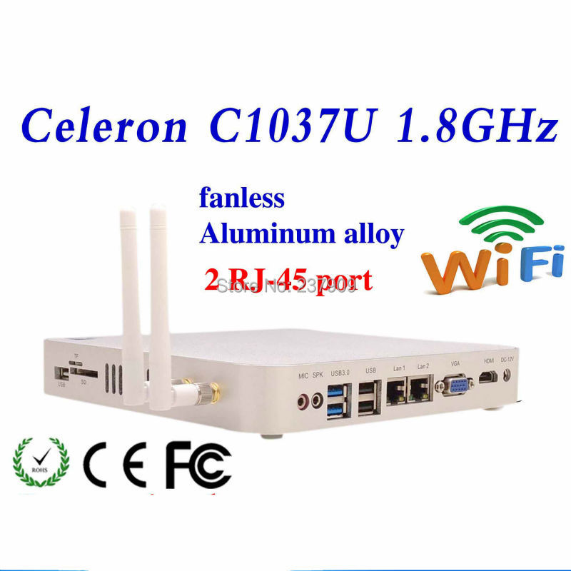 Desktop servers fanless thin client mainboard C1037U Intel NM70 chipset support Bluetooth embedded Audio and video(China (Mainland))