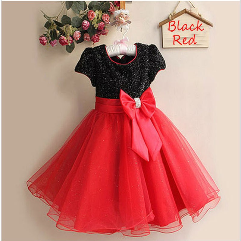 Wholesaler Elegant dress ,party baby girl princess dress clothing free shipping many colors 90-100-110-120-130-140(China (Mainland))