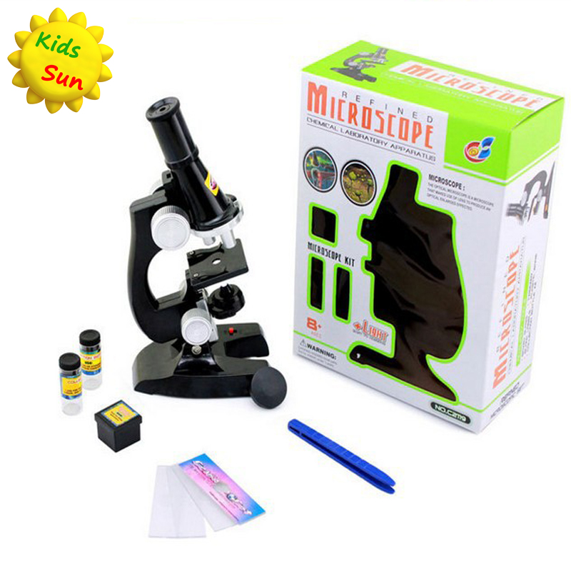 Fashion Children Early Development Educational Microscope Preschool Novelty & Gag Toys(China (Mainland))