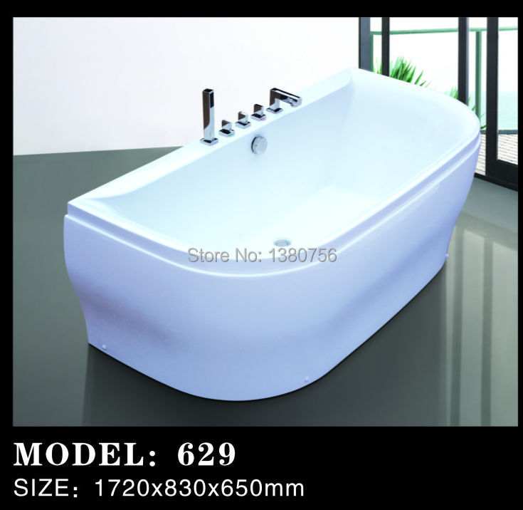luxury freestanding round bathtub small freestanding