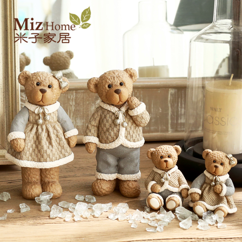 Miz Home Narnia Series Original Design Cute Resin Crafts Decoration Wedding Gift for Friends(China (Mainland))