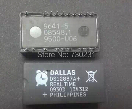 Free Shipping One Lot PACK10,Dallas Semiconductor DS12887A Real Time Clock IC(China (Mainland))