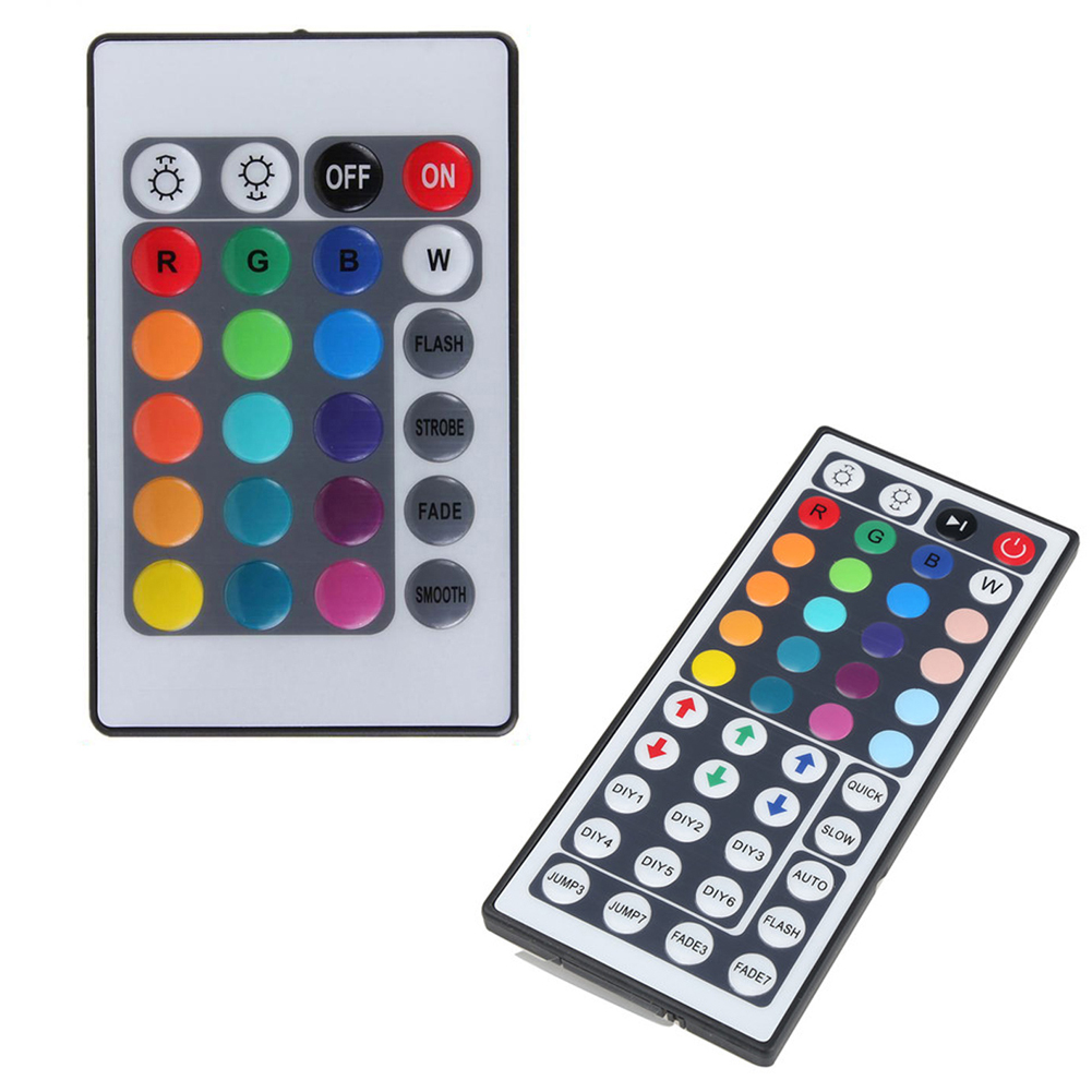 24/44 Keys RF Wireless Remote Switch RGB Controller Dimmer for LED Strip Light FULI(China (Mainland))