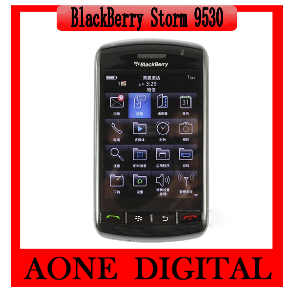 Original Refurbished Blackberry Storm 9530 Touch Screen 3Mp GPS Mobile Phone(China (Mainland))