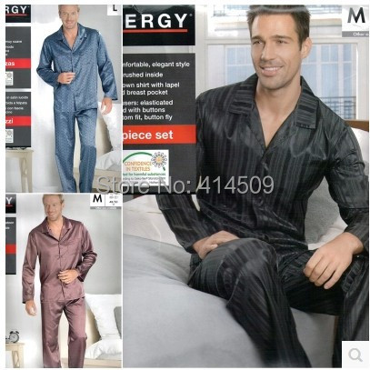 A++ quality Free shipping new 2015 men cotton pajamas sets male sleepwear 2-piece sets plus size thin pajamas suits