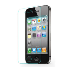 for apple tempered protective glass iphone 4s screen protector guard ecran protecteur vitre pelicula vidro for I phone 4