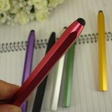 Free shipping Hexangular Barrel Stylus Touch Pen