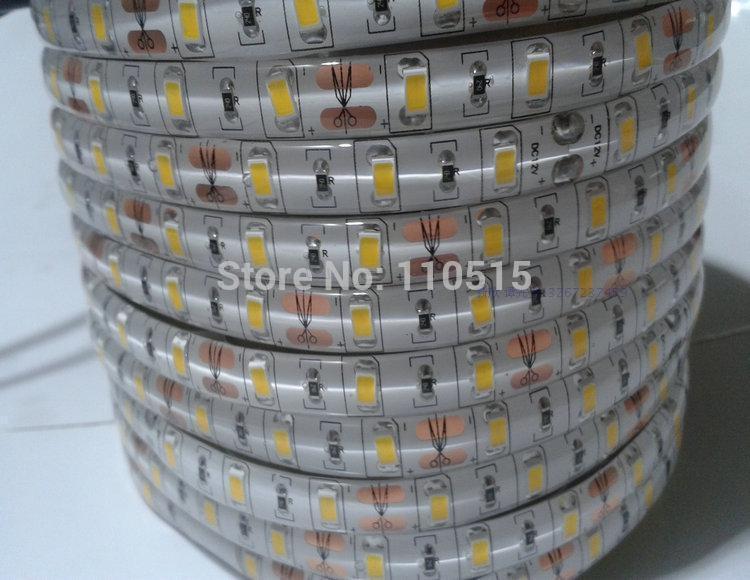 Waterproof 5630 LED Strip IP65 5630 SMD LED Tape 5M/300LEDs Warm White/Cool White Led Strip Light FREE SHIPPING(China (Mainland))