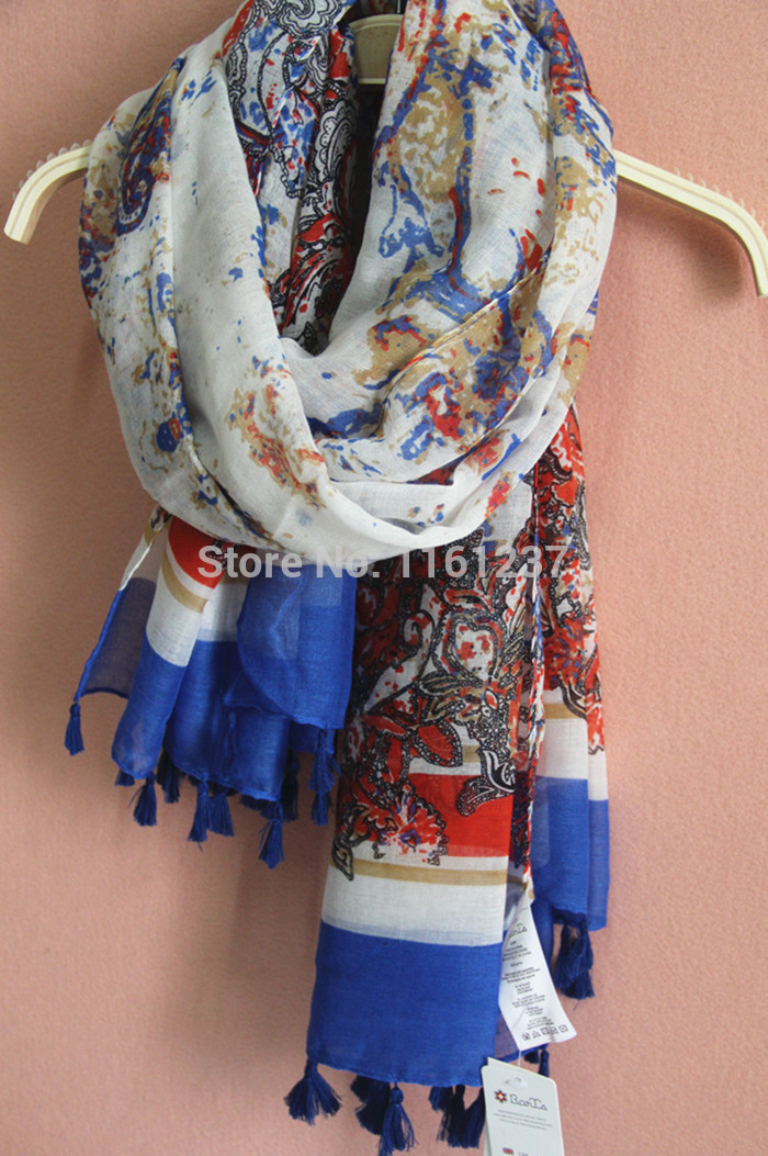New 2014 Winter Scarf Vintage Warm Knitted Scraves Bohemian Laides Scarf Wrap Shawl Nation Patterns