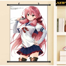 40X60CM Kantai Collection KanColle akashi loli art cameltoe cartoon anime wall picture mural poster cloth scroll canvas painting